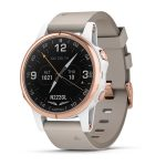 D2™ Delta S Aviator Watch with Beige Leather Band